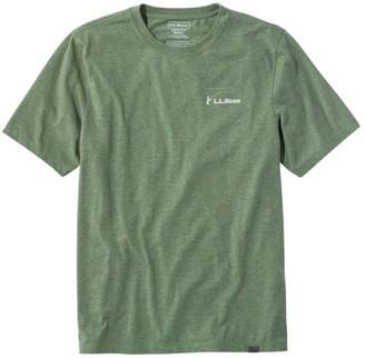 L.L. Bean Men's Technical Fishing Graphic Tees, Short-Sleeve