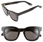 Givenchy Women's 48Mm Sunglasses - Black/ Black Mirror