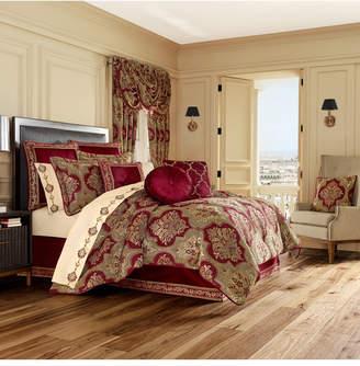 J Queen New York J Queen Maribella Crimson King Comforter Set Bedding