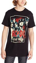 Impact Men's Acdc Illustrated Highway To Hell T-Shirt