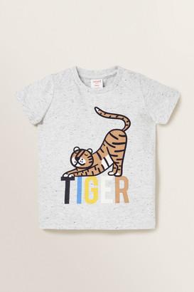 Seed Heritage Tiger Print Tee