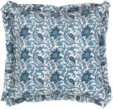Bunny Williams Home Southern Blues 20x20 Pillow, Blue/White