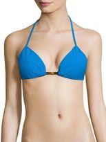 Milly Positano Solid Bikini Top