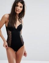 MANGO Lace Open Back Body