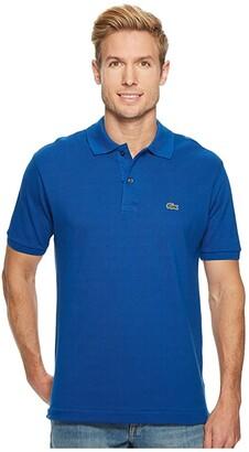 Lacoste Short Sleeve Classic Pique Polo Shirt (Ibiza) Men's Short Sleeve Pullover