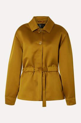 Stine Goya Aditi Belted Twill Jacket - Camel