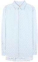 Current/Elliott The Simple Prep School Cotton-blend Shirt