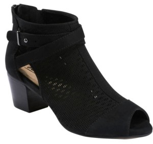 Earth Women's Leros Gaia Peep Toe Bootie Women's Shoes