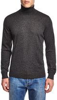 Isaia Turtleneck Long-Sleeve Sweater