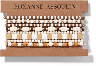 Roxanne Assoulin Color Therapy White bracelet set