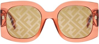 Fendi FOG440V1P square-frame sunglasses