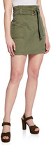 A.L.C. Kelsey High-Rise Plisse Wrap Skirt