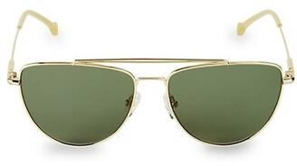 Colors In Optics 59MM Collins Aviator Sunglasses