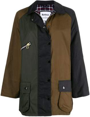 Barbour x Alexa Chung patch waxed jacket