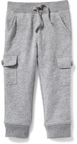 Old Navy Fleece Cargo Joggers for Toddler Boys