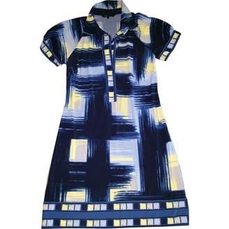 BCBGMAXAZRIA Blue Viscose Dresses