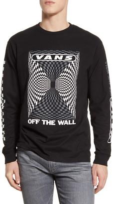 Vans Kaleidoscope Checkerboard Long Sleeve T-Shirt