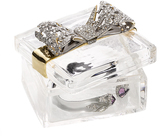 Alexis Bittar Crystal Encrusted Bow Box