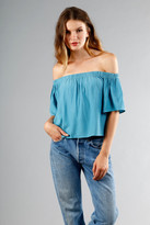 Otis & Maclain Laura Top | Sky