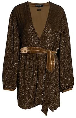 retrofete Gabrielle Sequin Robe Dress