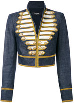 DSQUARED2 cropped band jacket