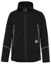 And Wander - Uv Shield Technical Zip Through Hooded Jacket - Mens - Dark Grey