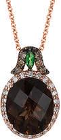 LeVian Le Vian Chocolatier 14K Rose Gold 4.18 Ct. Tw. Diamond & Gemstone Necklace