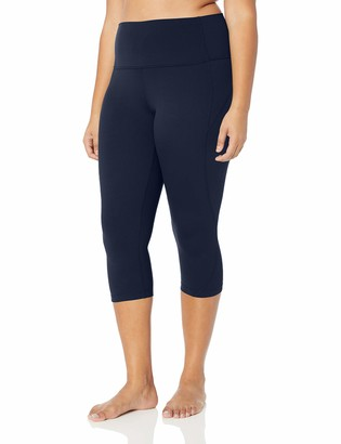 Core 10 Amazon Brand Nearly Naked Yoga High Waist Capri Legging-21 Leggings
