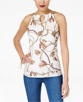 Thalia Sodi Embellished Halter Top, Created for Macy's