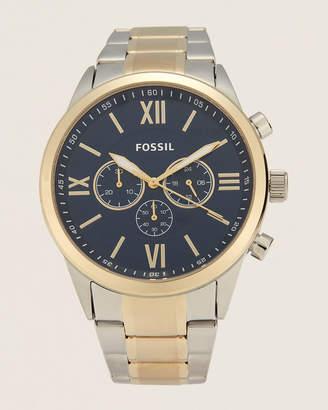 Fossil BQ2407 Flynn Two-Tone Chronograph Watch