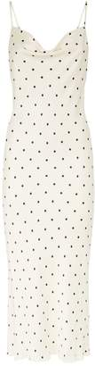 Shona Joy O'Dell Polka Dot Midi Dress