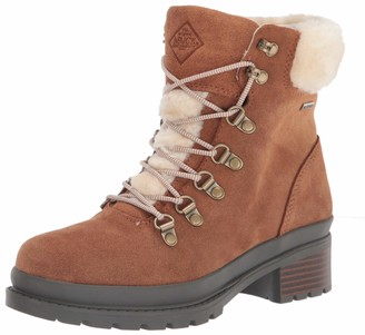 Muck Boot Muck Women's Liberty Alpine Waterproof Suede Lace Up - Tan (Lwas-901)
