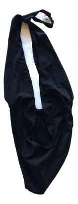 Norma Kamali Black Synthetic Swimwear