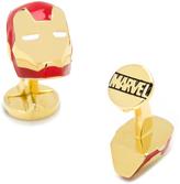Marvel Gold-Plated 3D Iron Man Cufflinks