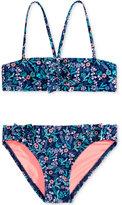 Roxy 2-Pc. Beach Bound Bandeau Bikini Set, Toddler & Little Girls (2T-6X)