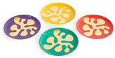 Jonathan Adler Multi Amoeba Coasters - Set of 4