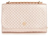 Tory Burch Marion Embossed Leather Crossbody Bag