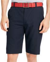 """Izod Men's Solid Flat Front Golf 10"""" Shorts"""