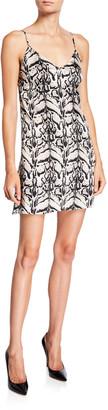 Loyd/Ford Tiger Silk Mini Slip Dress