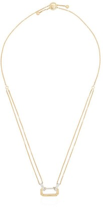 EÉRA 18kt gold Lucy diamond necklace