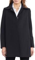 Lauren Ralph Lauren Women's A-Line Crepe Coat