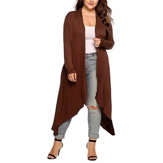Celucke Women's Long Cardigan