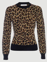 Frame Cheetah Crew Sweater