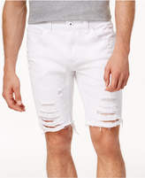 INC International Concepts Men's Ripped 9and#034; Shorts, Created for Macy's