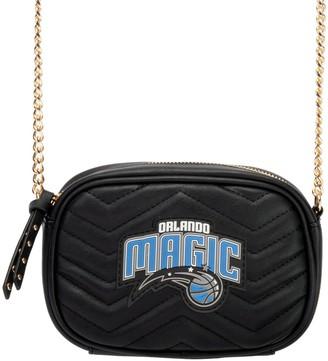 Women's Black Orlando Magic Crossbody Bag