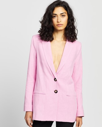 Bec & Bridge Vivid Rose Blazer