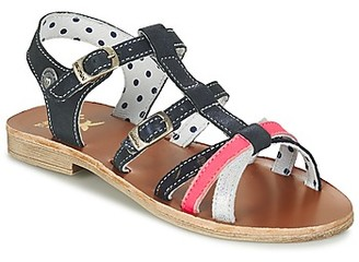Catimini CORAIL girls's Sandals in Blue