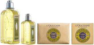 L'Occitane Verbena Shower Home & Away 4-PieceCollection