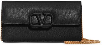 Valentino VSling Calfskin Wallet on a Chain
