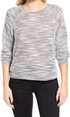 Everleigh Textured Sweatshirt